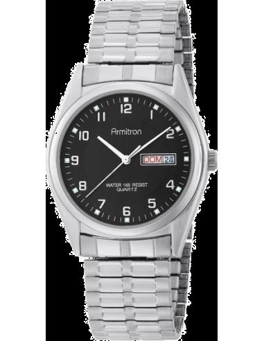 Chic Time | Montre Homme Armitron 201143BKSV Casual  | Prix : 78,00€