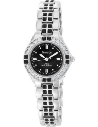 Chic Time | Montre Femme Armitron 753689BKSV NOW Swarovski Crystal  | Prix : 109,90 €