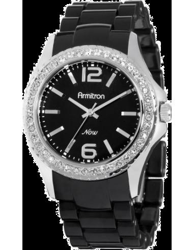 Chic Time   Montre Femme Armitron 753935BKBK Swarovski Crystal    Prix : 74,90€
