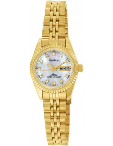 Chic Time | Montre Femme Armitron 75-2474MOP NOW Swarovski Crystal  | Prix : 81,90 €