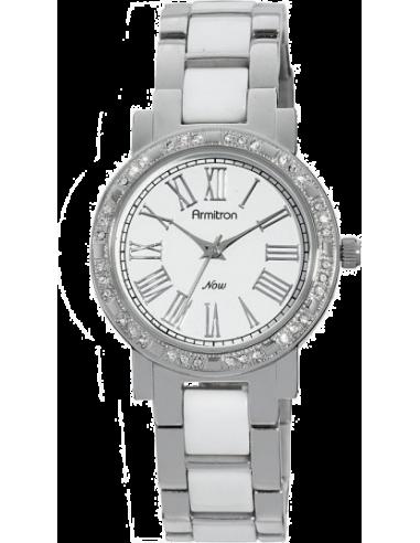 Chic Time   Montre Femme Armitron 753863WTSV Now Swarovski Crystal    Prix : 55,00€