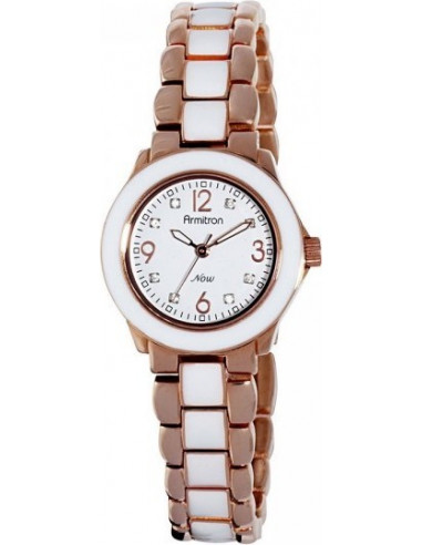 Chic Time | Montre Femme Armitron 753896WTRGWT Swarovski Crystal NOW  | Prix : 97,90€