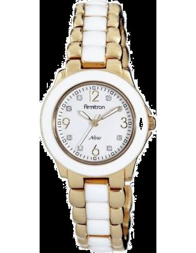 Chic Time   Montre Femme Armitron 753896WTGPWT Swarovski Crystal NOW    Prix : 99,90€