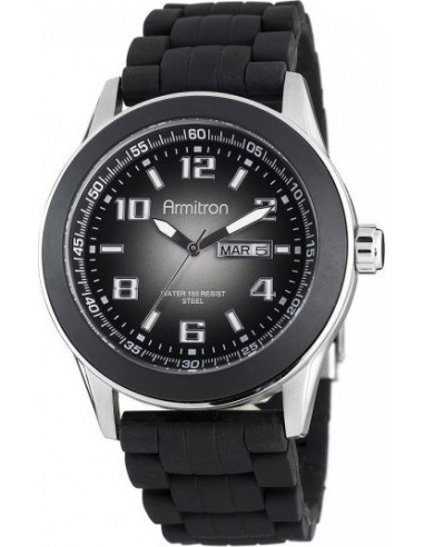Chic Time   Armitron 204678DGSVBK men's watch    Buy at best price