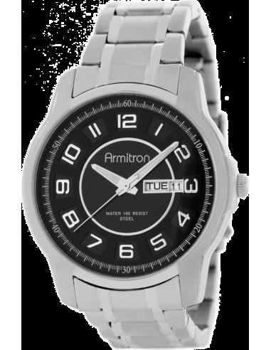 Chic Time | Armitron 204744BKSV men's watch  | Buy at best price
