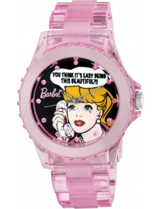 Chic Time | Montre Femme Armitron Barbie Bracelet Rose En Polycarbonate  | Prix : 19,90 €