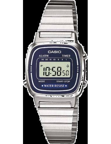 Chic Time | Montre Casio Vintage LA670WEA-2EF Argent  | Prix : 17,50€