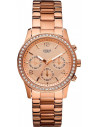 Chic Time | Montre Femme Guess Mini Spectrum W0122L3 Or rose & Strass  | Prix : 229,00 €