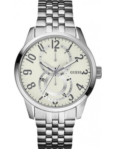 Chic Time | Montre Homme Guess W13100G2 Argent  | Prix : 99,00 €