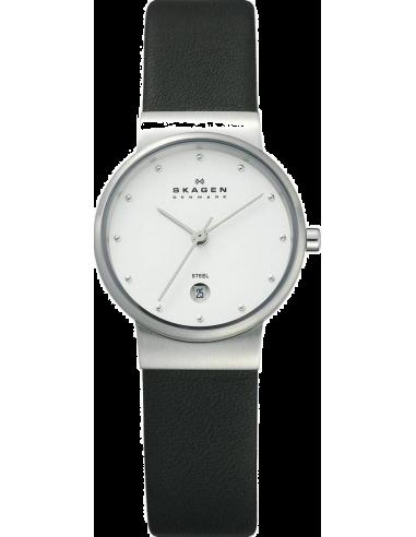 Chic Time   Montre Femme Skagen 355SSLW Noir    Prix : 139,00€