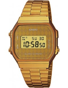 Chic Time | Montre Homme Casio Collection A168WG-9BWEF Or  | Prix : 32,90 €