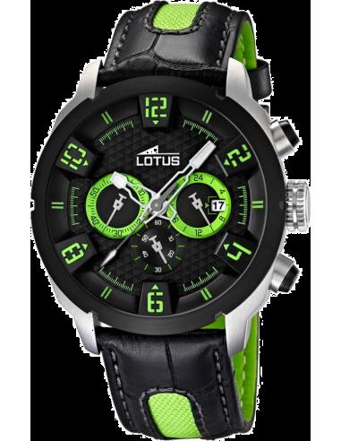 Chic Time   Montre Homme Lotus L15787/3 Bracelet Noir    Prix : 159,00€