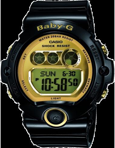 Chic Time   Montre Femme Casio Baby-G BG-6901-1ER Noir    Prix : 80,90€