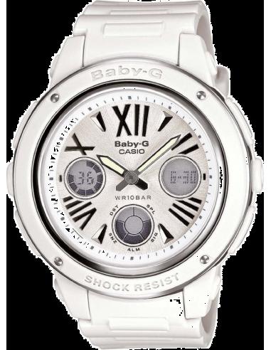 Chic Time | Montre Femme Casio Baby-G BGA-152-7B1ER Blanc  | Prix : 94,00€