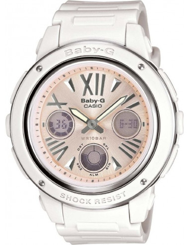 Chic Time | Montre Femme Casio Baby-G BGA-152-7B2ER Blanc  | Prix : 99,00€