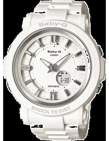 Chic Time | Montre Femme Casio Baby-G BGA-300-7A1ER Bracelet Résine Blanc  | Prix : 139,99€