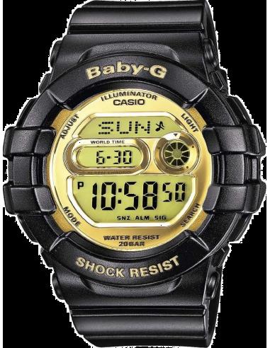 Chic Time | Montre Femme Casio Baby-G BGD-141-1ER Noir  | Prix : 71,91€