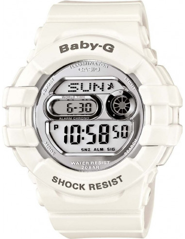 Chic Time | Montre Femme Casio Baby-G BGD-141-7ER Blanc  | Prix : 119,00€