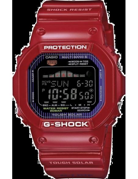Chic Time | Montre Homme Casio G-Shock GWX-5600C-4ER Rouge  | Prix : 149,00€