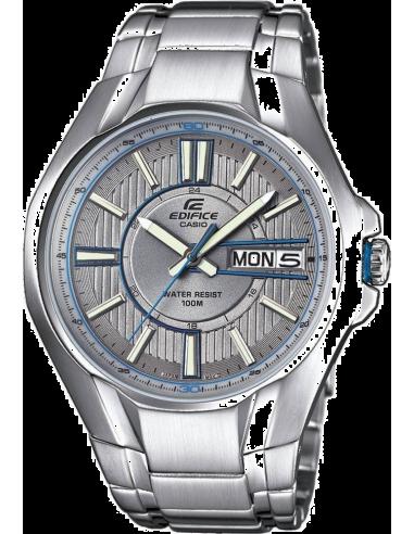 Chic Time | Montre Homme Casio Edifice EF-133D-7AVEF Argent  | Prix : 78,00€