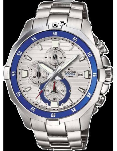 Chic Time | Montre Homme Casio Edifice EFM-502D-7AVEF Argent  | Prix : 114,00€