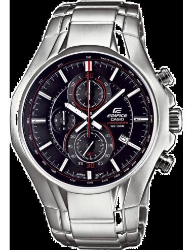 Chic Time | Montre Homme Casio Edifice EFR-522D-1AVEF Bracelet Acier Inoxydable  | Prix : 118,90€