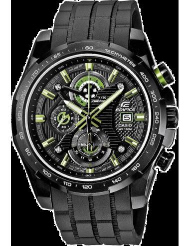 Chic Time   Montre Homme Casio Edifice EFR-523PB-1AVEF Bracelet Résine Noir    Prix : 199,00€