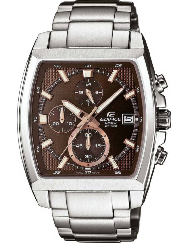 Chic Time | Montre Homme Casio Edifice EFR-524D-5AVEF Argent  | Prix : 101,80€