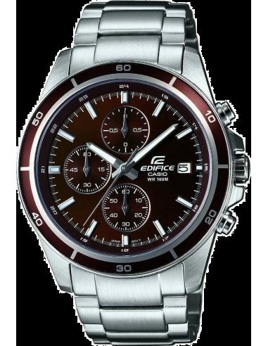 Chic Time | Montre Homme Casio Edifice EFR-526D-5AVUEF Bracelet Acier Inoxydable  | Prix : 89,90€