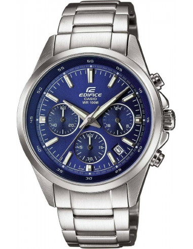 Chic Time | Montre Homme Casio Edifice EFR-527D-2AVUEF Argent  | Prix : 79,50€