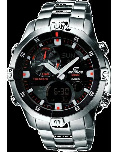 Chic Time | Montre Homme Casio Edifice EMA-100D-1A1VEF Argent  | Prix : 179,10€