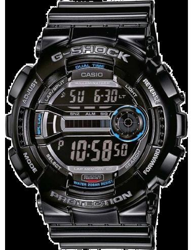 Chic Time   Montre Homme Casio G-Shock GD-110-1ER Bracelet Résine Noir    Prix : 99,00€