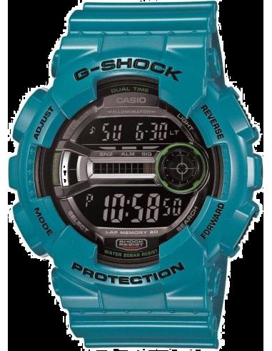 Chic Time | Montre Homme Casio G-Shock GD-110-2ER Bleu  | Prix : 112,90€