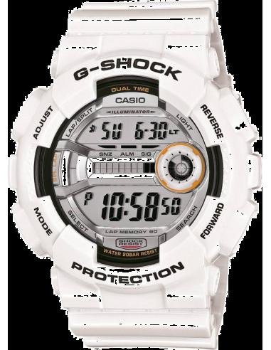 Chic Time | Montre Homme Casio G-Shock GD-110-7ER Blanc  | Prix : 159,00€