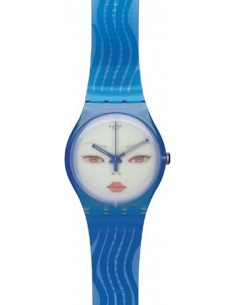 Chic Time   Montre Swatch & Art SUOZ107 Bleu    Prix : 48,30€