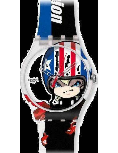 Chic Time | Montre Swatch Originals Transmission SUOZ109  | Prix : 17,70€