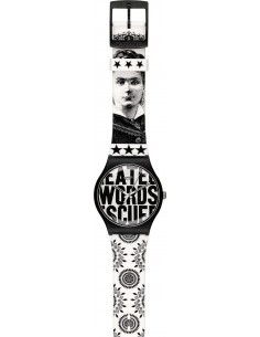 Chic Time | Montre Swatch & Art SUOZ124 Blanc  | Prix : 41,30€