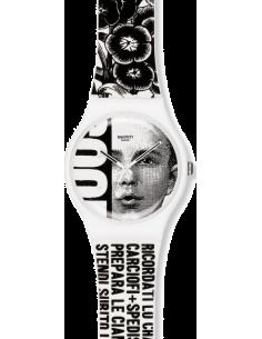 Chic Time | Montre Swatch & Art SUOZ127 Blanc  | Prix : 29,50€