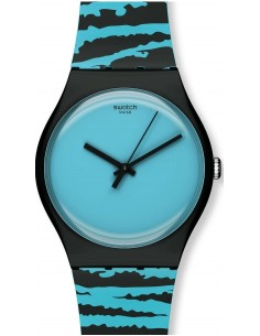 Chic Time | Montre Mixte Swatch Wonder Tube SUOZ143  | Prix : 55,00 €