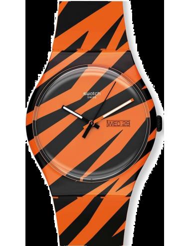 Chic Time | Montre Swatch SUOZ703 Orange  | Prix : 31,60€
