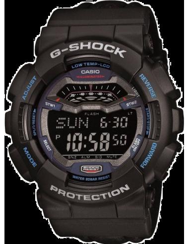 Chic Time | Montre Homme Casio G-Shock GLS-100-1ER Noir  | Prix : 97,90€