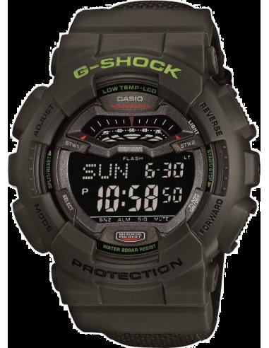 Chic Time | Montre Homme Casio G-Shock GLS-100-3ER Noir  | Prix : 98,10€