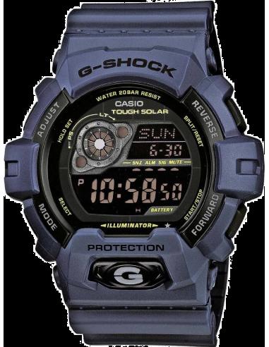 Chic Time | Montre Homme Casio G-Shock GR-8900NV-2ER Bracelet Résine Bleu  | Prix : 109,90€