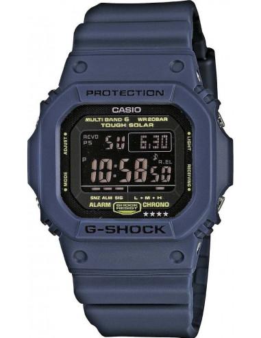 Chic Time | Montre Homme Casio G-Shock Wave Ceptor Tough Solar GW-M5610NV-2ER  | Prix : 287,20€