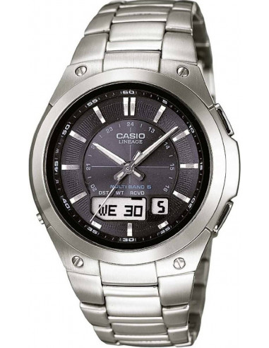 Chic Time   Montre Homme Casio Lineage Wave Ceptor Radio Controlled LCW-M150TD-1AER    Prix : 325,00€