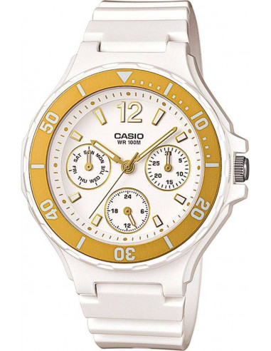 Chic Time | Montre Femme Casio Collection LRW-250H-9A1VEF Blanc  | Prix : 63,90 €