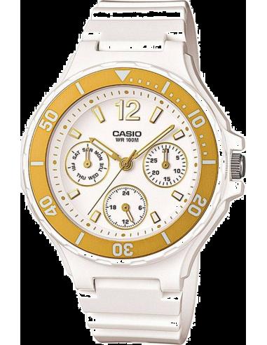 Chic Time | Montre Femme Casio Collection LRW-250H-9A1VEF Blanc  | Prix : 63,90€