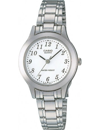 Chic Time | Montre Femme Casio Collection LTP-1128A-7BEF Argent  | Prix : 27,00 €