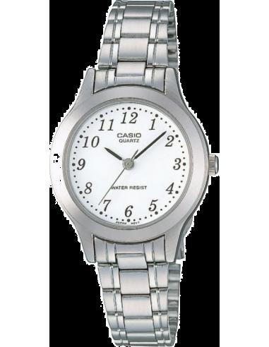 Chic Time | Montre Femme Casio Collection LTP-1128A-7BEF Argent  | Prix : 27,00€