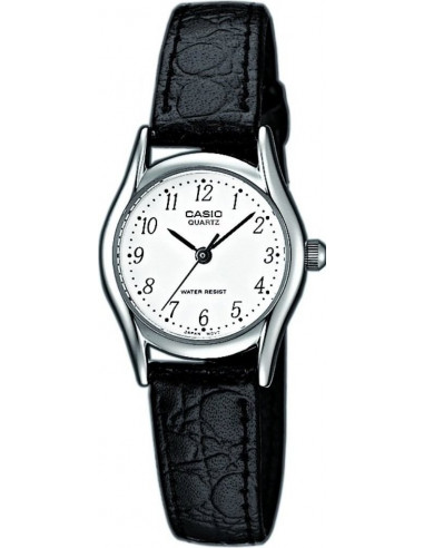 Chic Time | Montre Femme Casio Collection LTP-1154E-7BEF Noir  | Prix : 24,99€